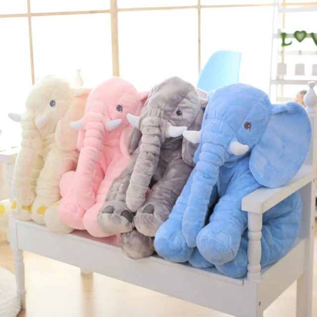 Plush Elephant Toy
