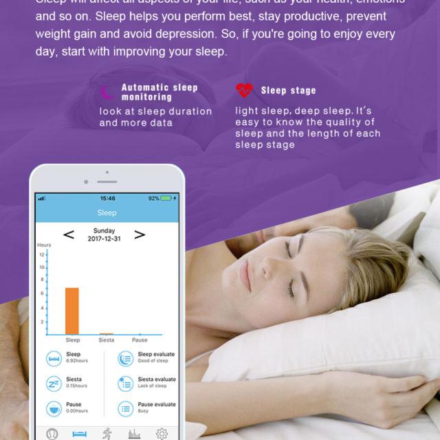 Smart Fitness Tracker Xiaomi Miband 2