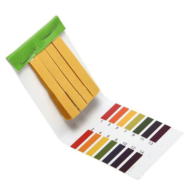pH Measuring Test Tool 80 Strips Set
