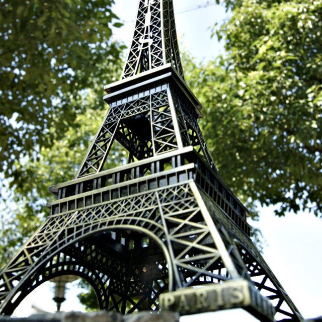 Vintage Paris Eiffel Tower Souvenir