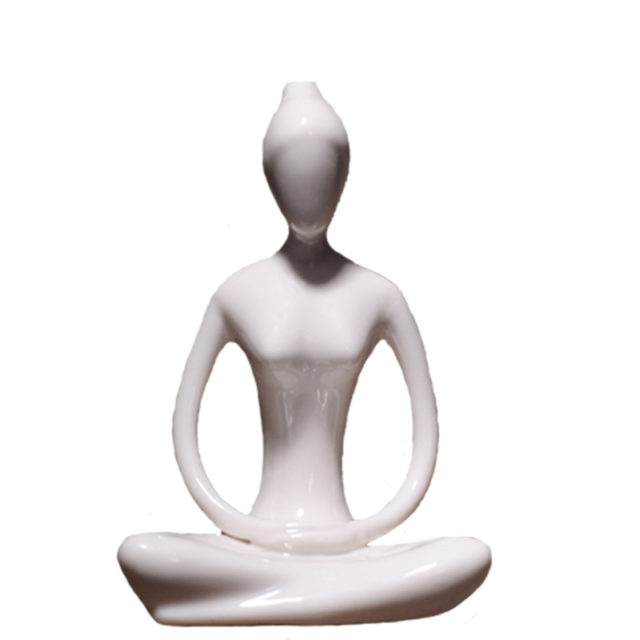Abstract Yoga Asana Miniature Figurines