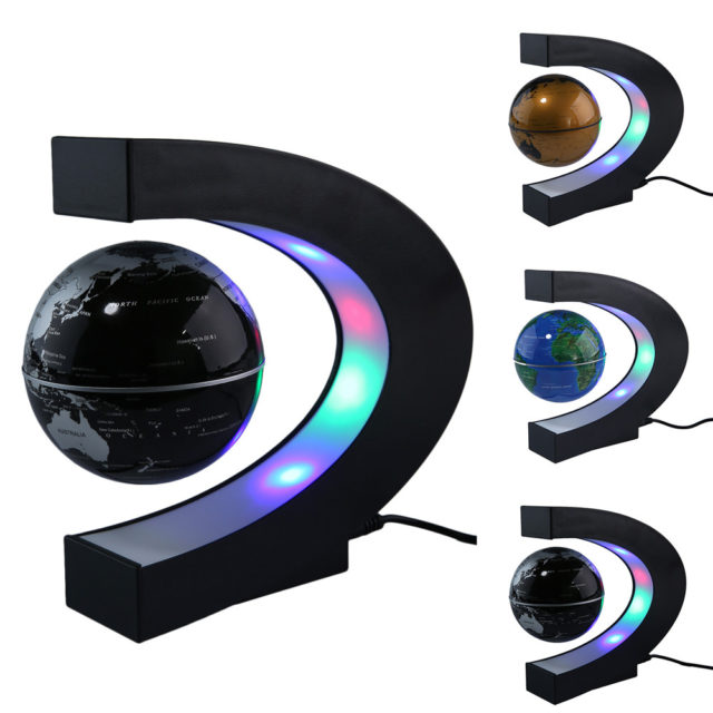 Magnetic LED Globe with LED Light