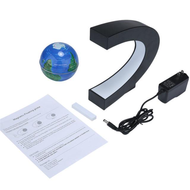 Magnetic LED Globe with LED Light