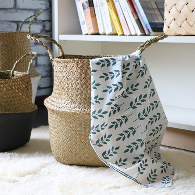 Rattan Foldable Laundry Hamper