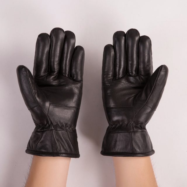 Fashion Winter Sheepskin Men's Gloves