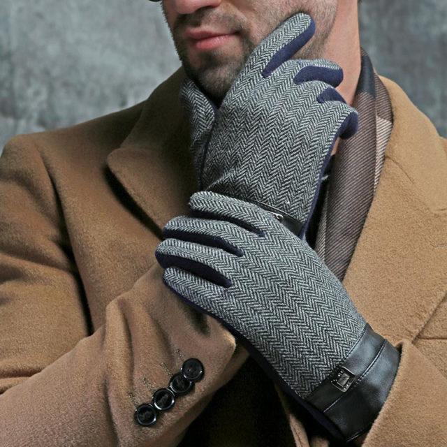 Men's Soft Winter Gloves