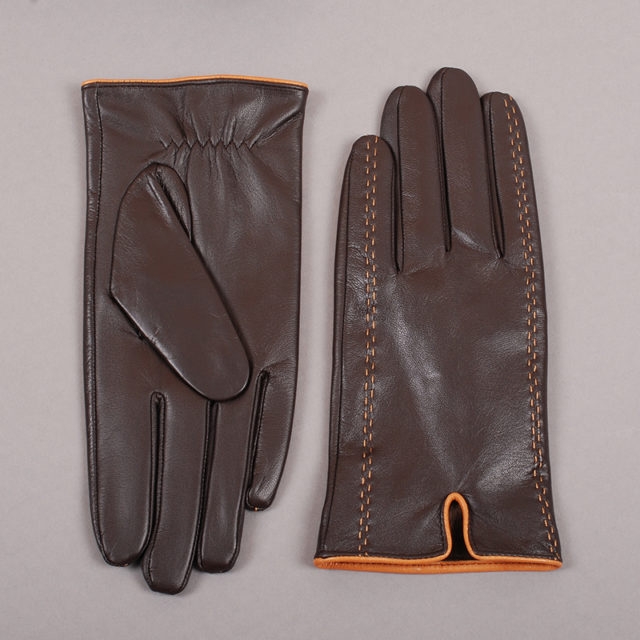 Soft Men's Leather Gloves