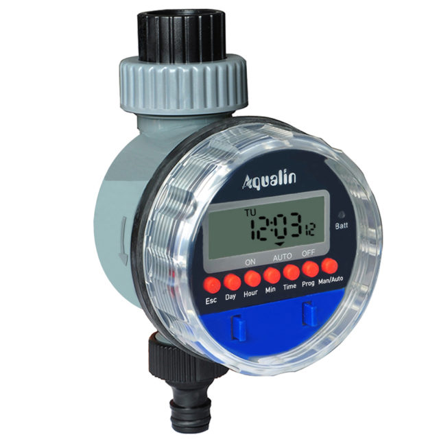 Automatic Electronic Garden Water Timers with LCD Display