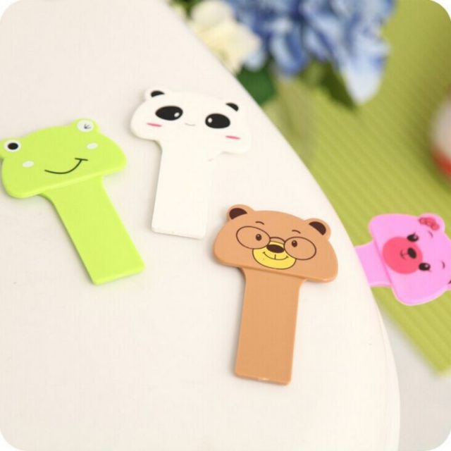 Cute Animal Shaped Plastic Toilet Seat Lid Handle