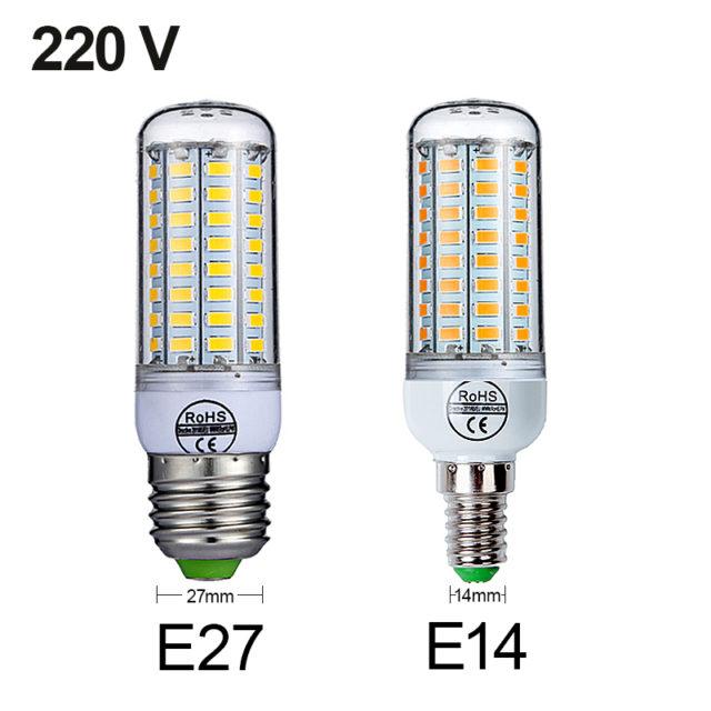 E27 Corn Bulb LED Light