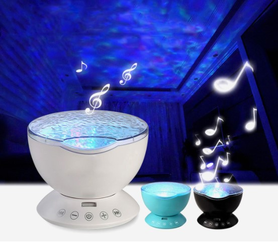 Ocean Wave Music LED Projector