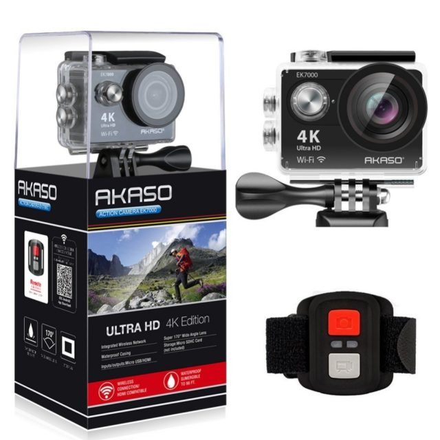 Waterproof Wide Angle Ultra HD Action Camera