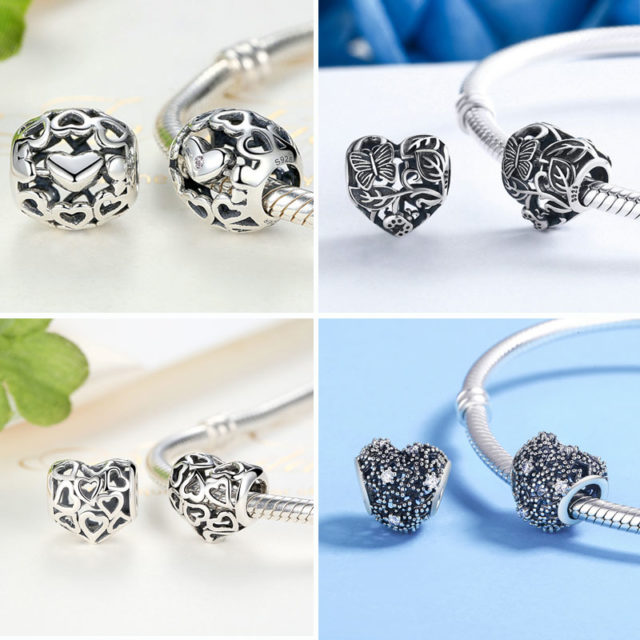 DIY Silver Plated Beads