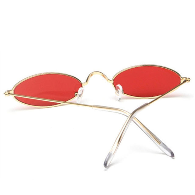Oval Multicolor Lenses Sunglasses