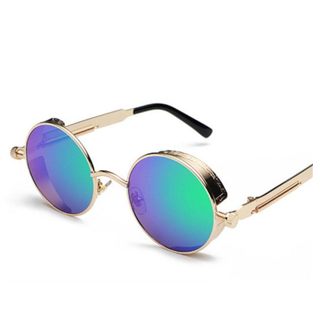 Round Shaped Mirror Sunglasses