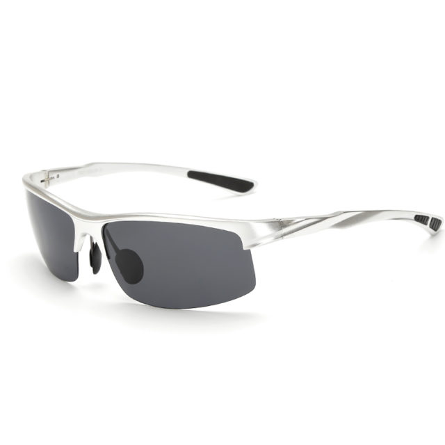 Men's Stylish Polarized Sunglasses with Metal Frame