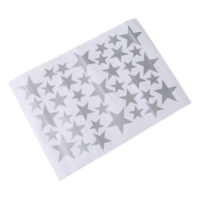 Cute Stars Wall Stickers Set