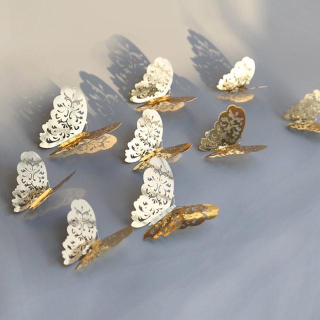 Wonderful 3D Butterfly Wall Stickers