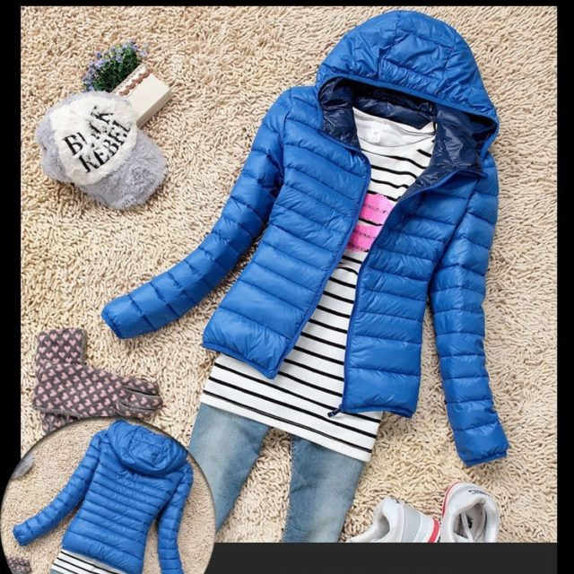 Women's Casual Warm Quilted Jacket