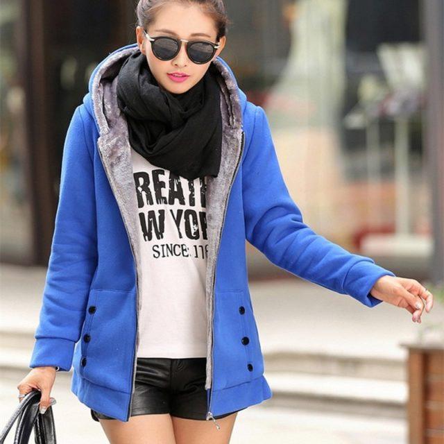 Women's Casual Hooded Coat