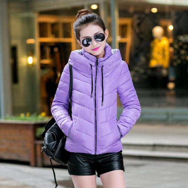 Women's Colorful Warm Down Jacket