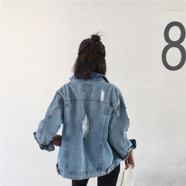 Women's Casual Style Denim Jacket
