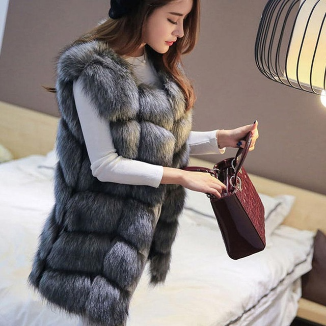 Women's Warm Fur Vest