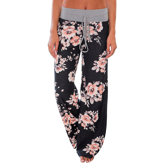 Women's Floral Printed Pants