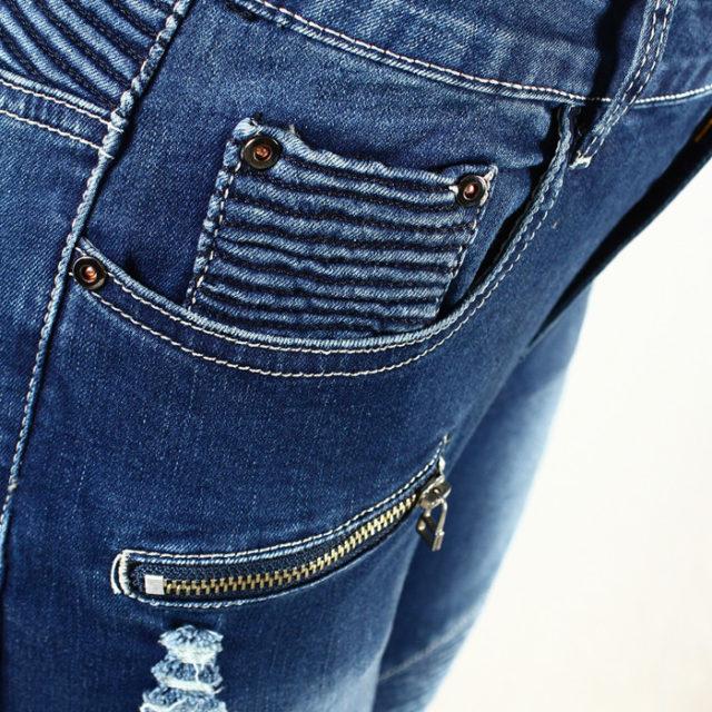 Women's Skinny Mid Waist Jeans