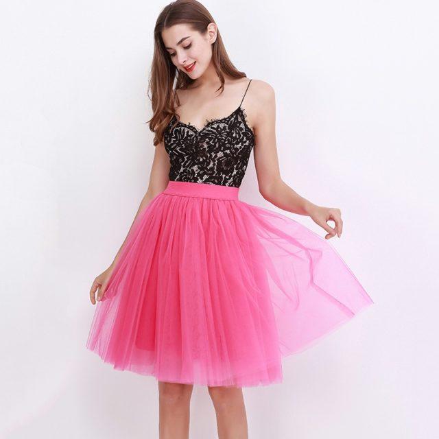 Women's Tule Midi Skirt