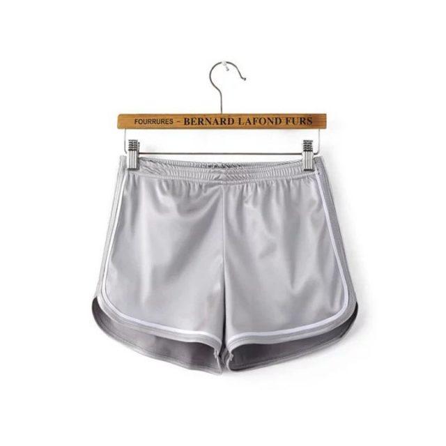 Women's Silk Slim Shorts