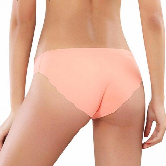 Comfortable Seamless Ultrathin Cotton Women's Panties