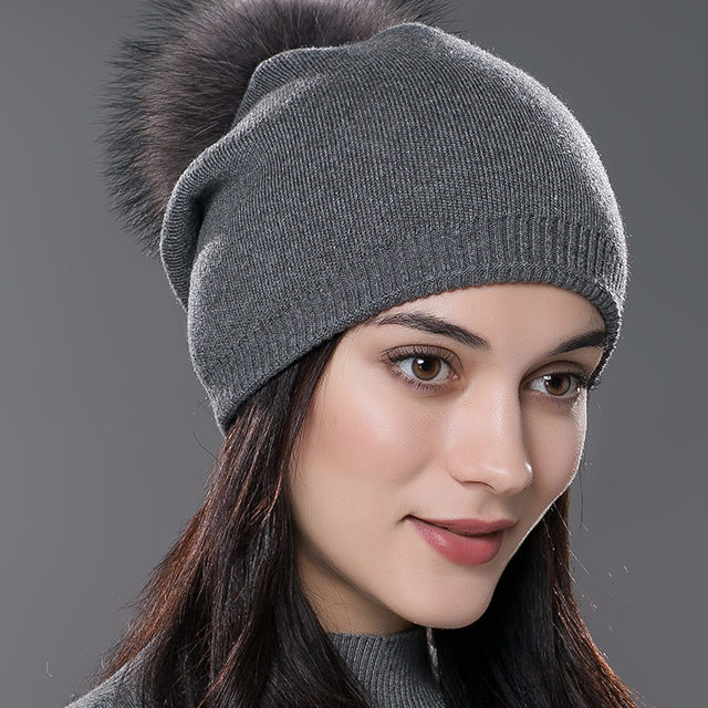 Unisex Knitted Wool Hat