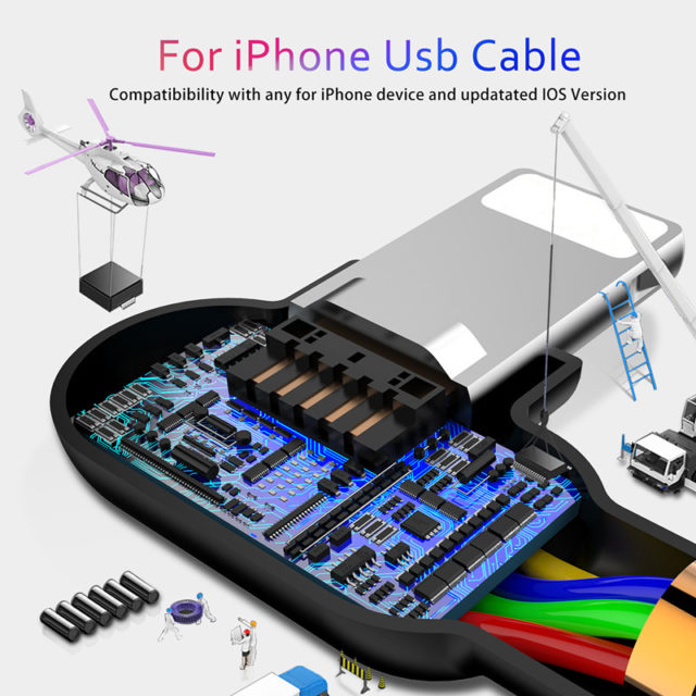 Lightning USB Cable for Apple Devices