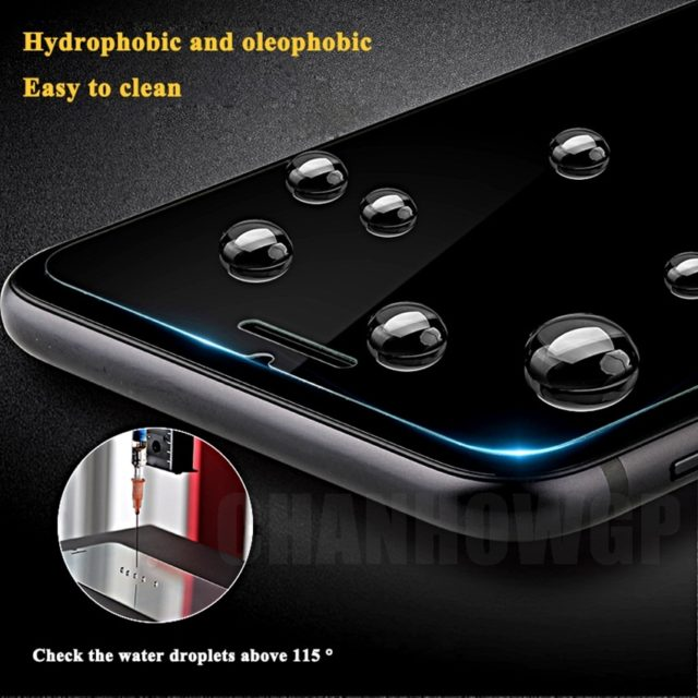 Scratch Proof Tempered Glass for iPhone 2 pcs Set