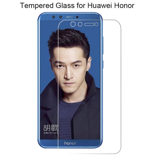 Transparent Glass Screen Protector for Huawei Honor