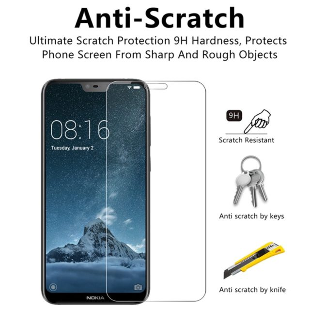 Tempered Glass Screen Protector for Nokia