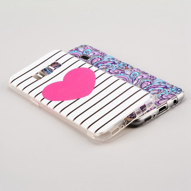 Various Prints Soft TPU Cases for Samsung Galaxy