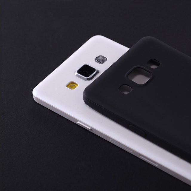 Ultra-Thin Soft Silicone Colorful Phone Cases For Samsung