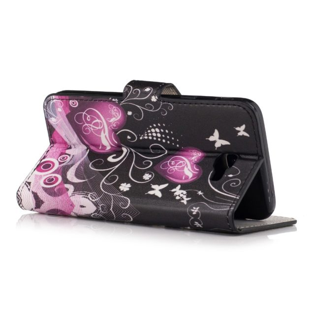 Flip Romantic Print PU Leather Phone Cases for Samsung