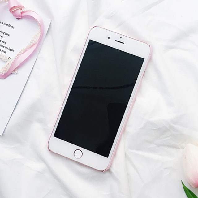 Cute Heart Printed Phone Cases For iPhone