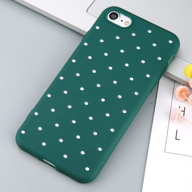 Soft TPU Back Cover For iPhone
