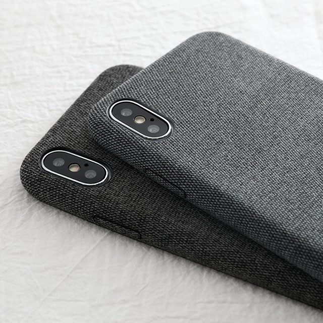 Fabric Printed Phone Case for iPhone