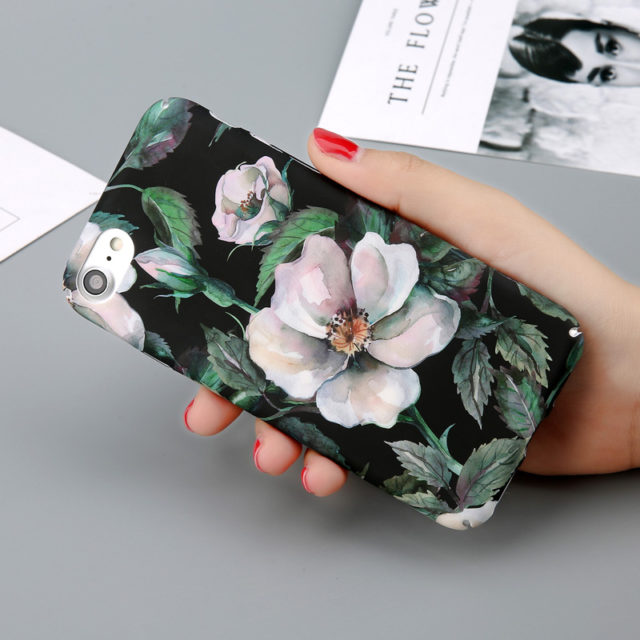 Printed Hard Phone Cases For iPhone