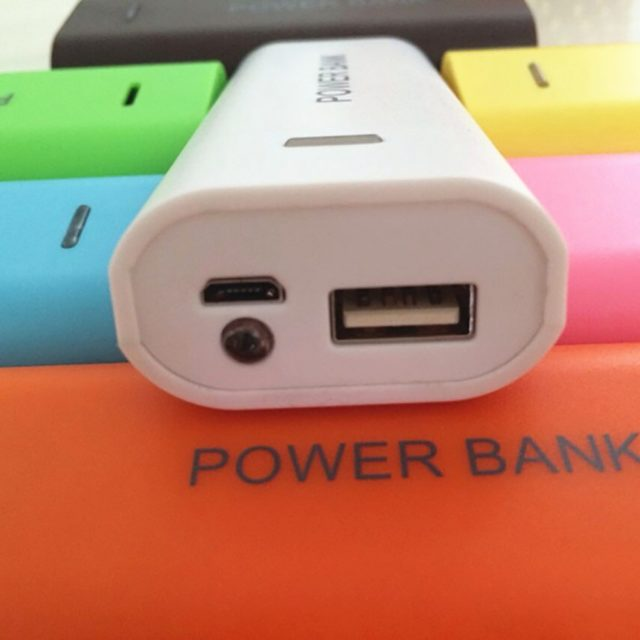 Candy Color Traveling 5600 mAh Battery Power Bank