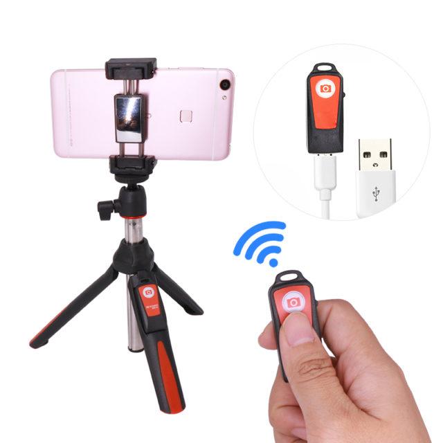 Bluetooth Extendable Monopod Selfie Stick for Mobile Phones