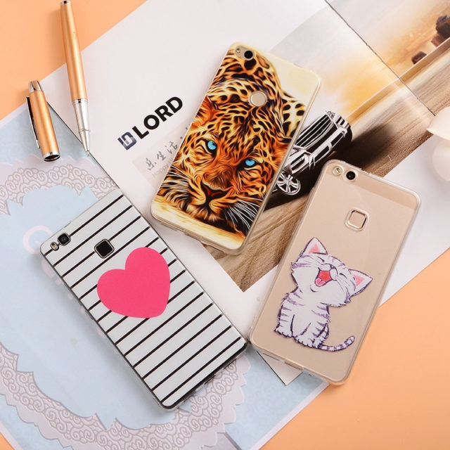 Various Cute Prints Soft TPU Cases for Huawei