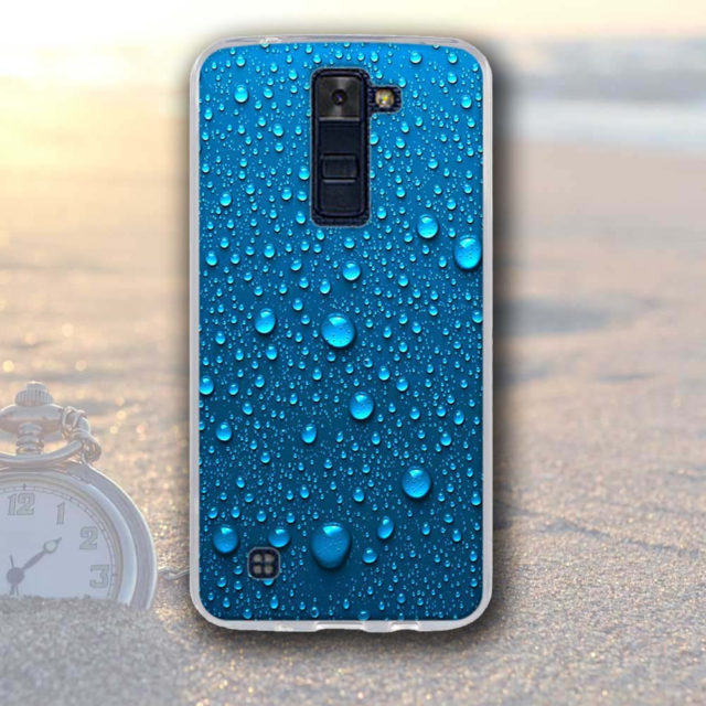 Colorful Printed Silicone Phone Case for LG