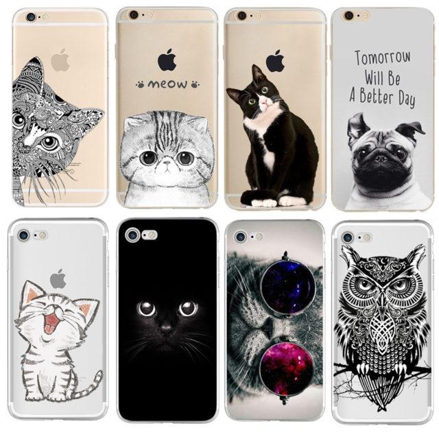 Cute Cats Printed iPhone Xiaomi Phone Cases