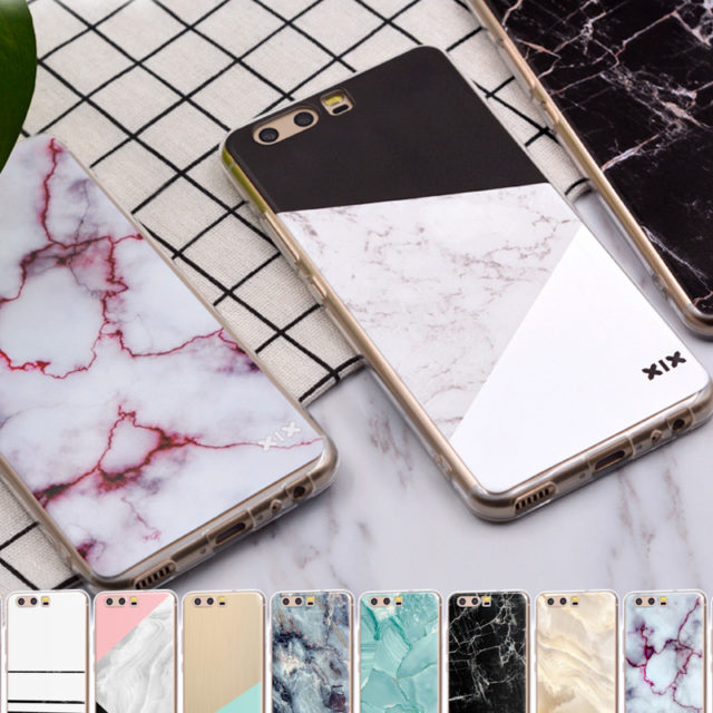 Marble Printed Phone Case for Huawei